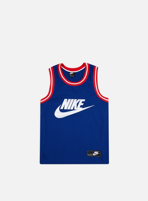 Outlet e Saldi Canotte Nike NSW Statement Mesh Tank