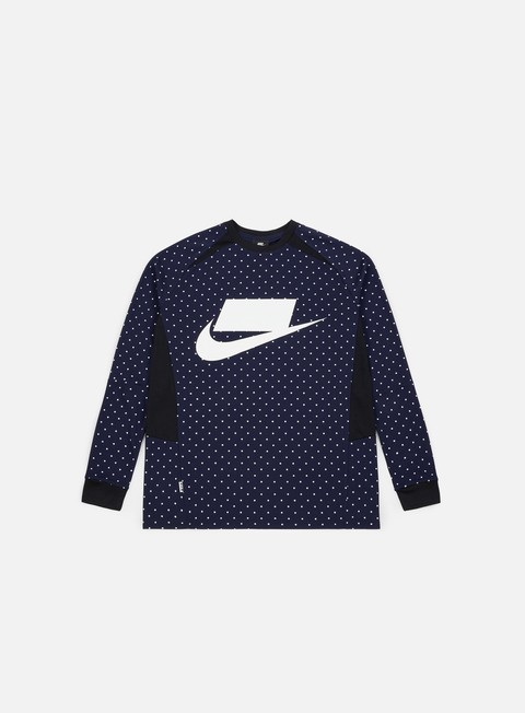 Outlet e Saldi T-shirt a Manica Lunga Nike NSW Top Knit LS T-shirt