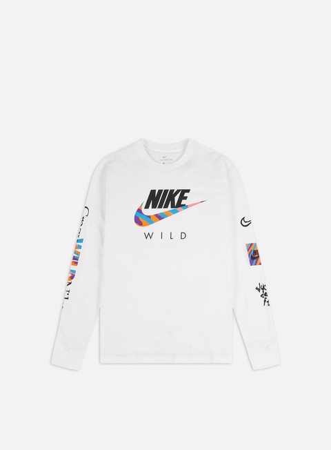 Long Sleeve T-shirts Nike NSW Wild Futura LS T-shirt