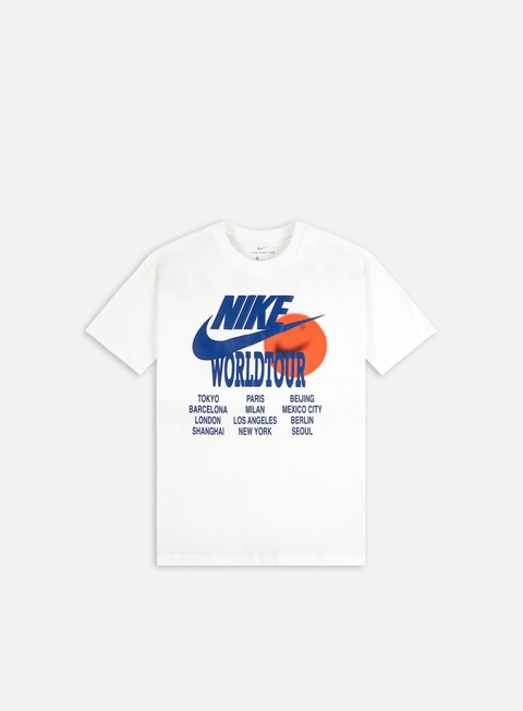 T-shirt a Manica Corta Nike NSW World Tour T-shirt