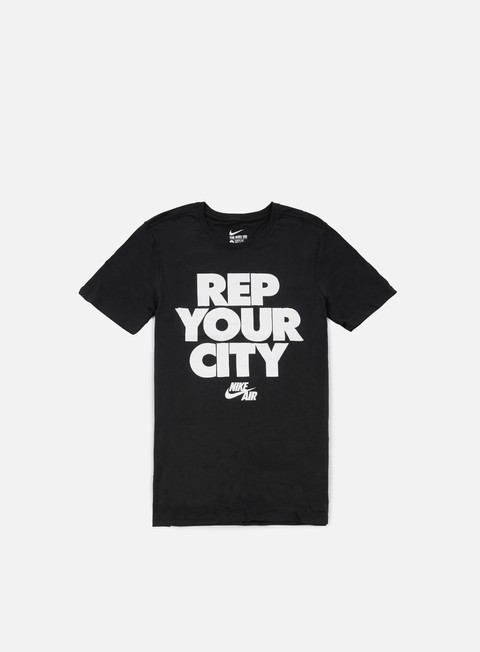 t shirt nike rep your city t shirt black white