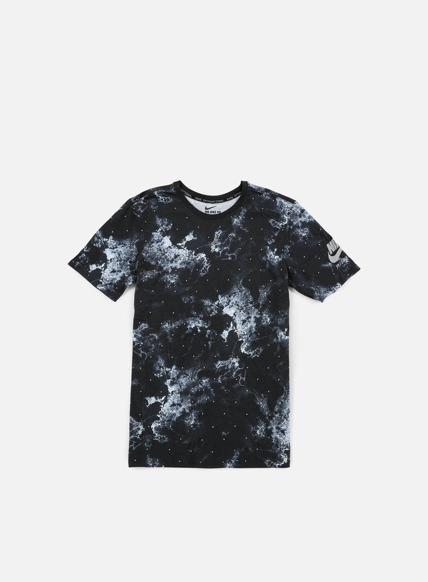 Nike - Running Seasonal AOP, Tshirt, Black