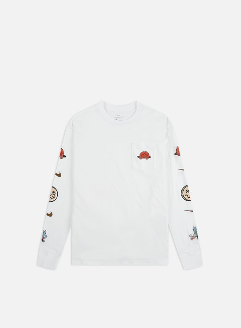 Outlet e Saldi T-shirt a Manica Lunga Nike SB Artist LS T-shirt