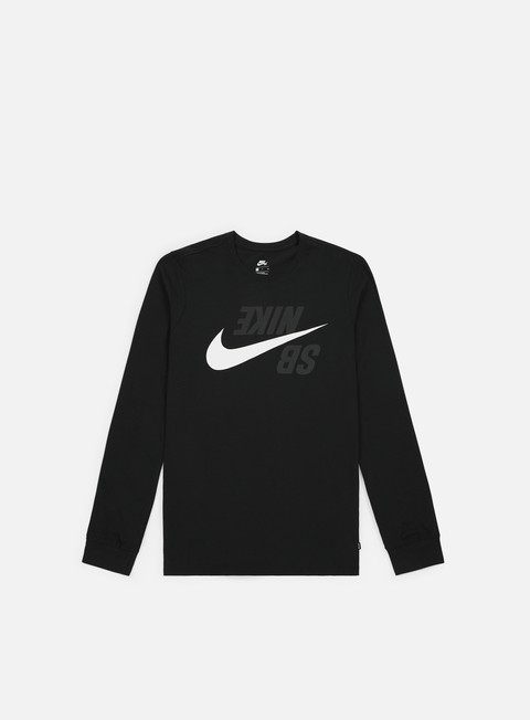 T-shirt Logo Nike SB Backwards LS T-shirt