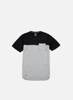 Nike SB - Dri-Fit Blocket Pocket T-shirt, Dark Grey Heather/Black Heather 1