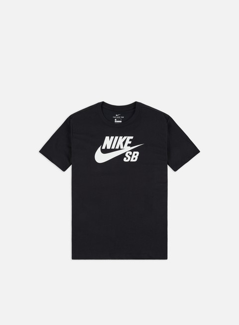 Outlet e Saldi T-shirt a Manica Corta Nike SB Dri-Fit Logo T-shirt