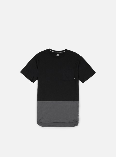 t shirt nike sb dri fit pocket t shirt black dark grey