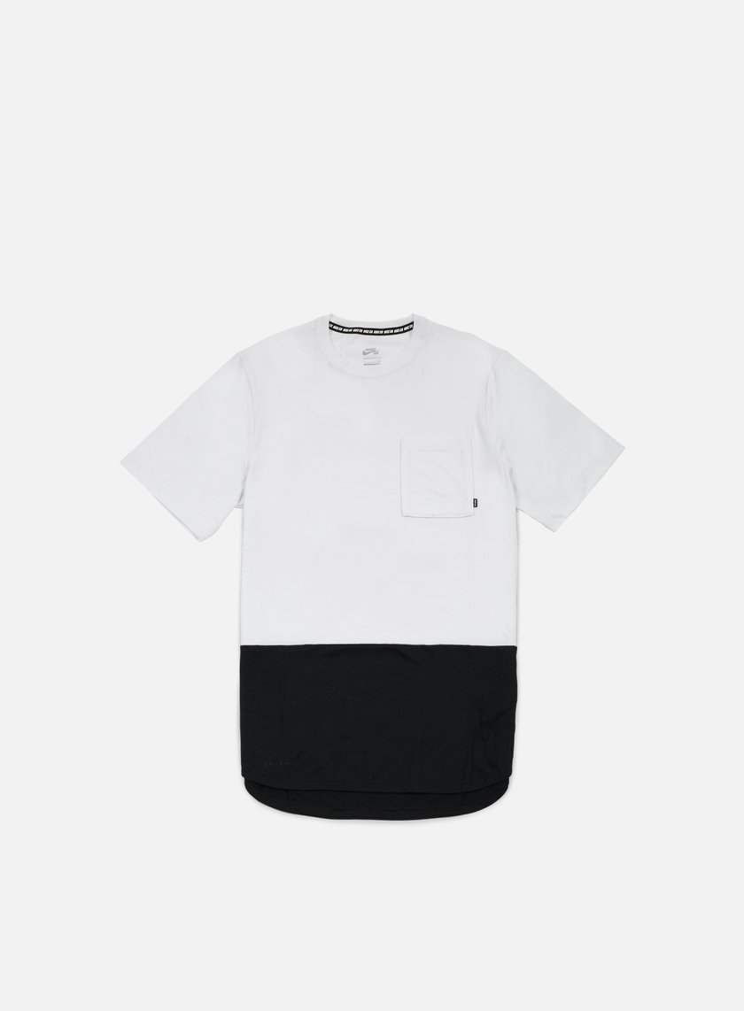 Nike SB - Dri-Fit Pocket T-shirt, White/Dark Obsidian