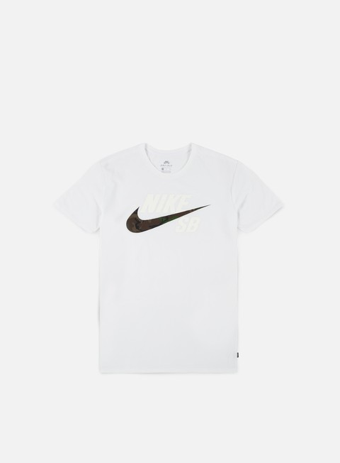 Outlet e Saldi T-shirt a Manica Corta Nike SB Dry DFC Camo T-shirt