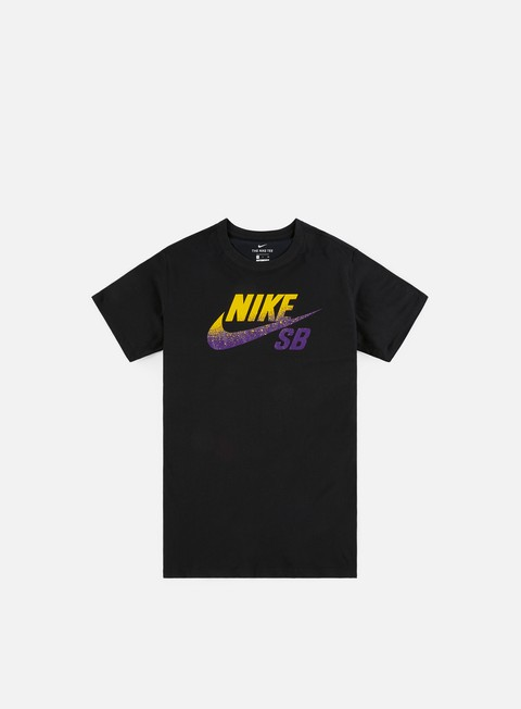 Short Sleeve T-shirts Nike SB Dry Dfct NBA Logo T-shirt