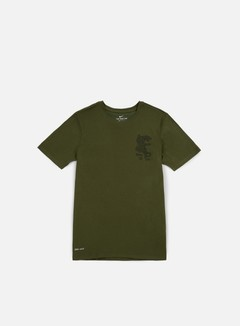 Nike SB - Dry Leopard T-shirt, Legion Green/Black 1