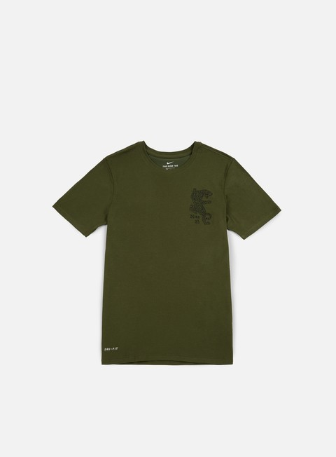Sale Outlet Short Sleeve T-shirts Nike SB Dry Leopard T-shirt