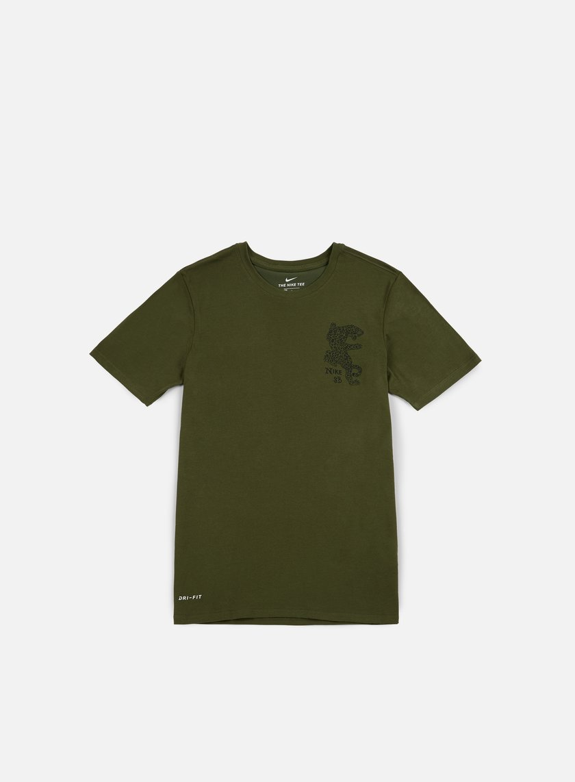 Nike SB - Dry Leopard T-shirt, Legion Green/Black