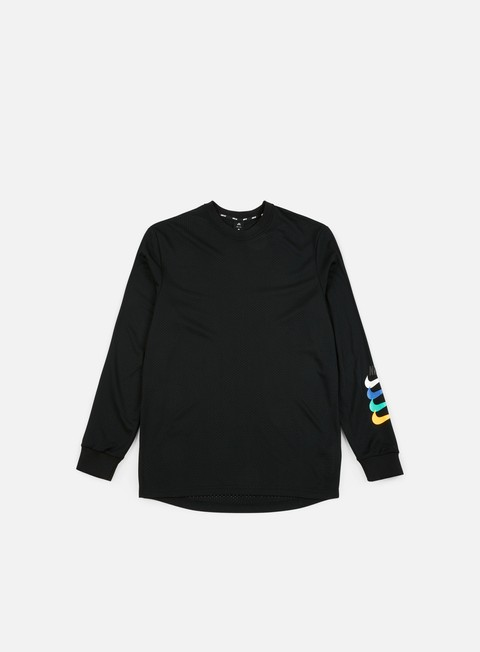 Outlet e Saldi T-shirt a Manica Lunga Nike SB Dry Top GFX LS T-shirt