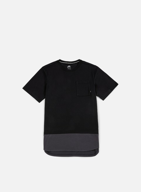 t shirt nike sb dry top t shirt black anthracite