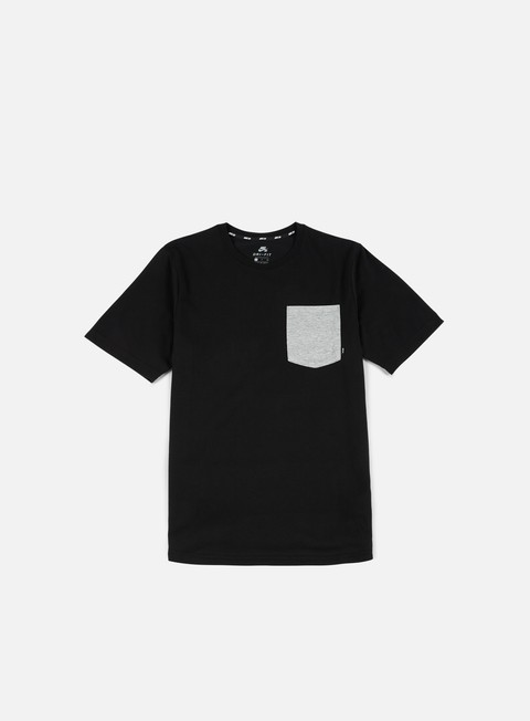 t shirt nike sb dry top t shirt black dark grey heather