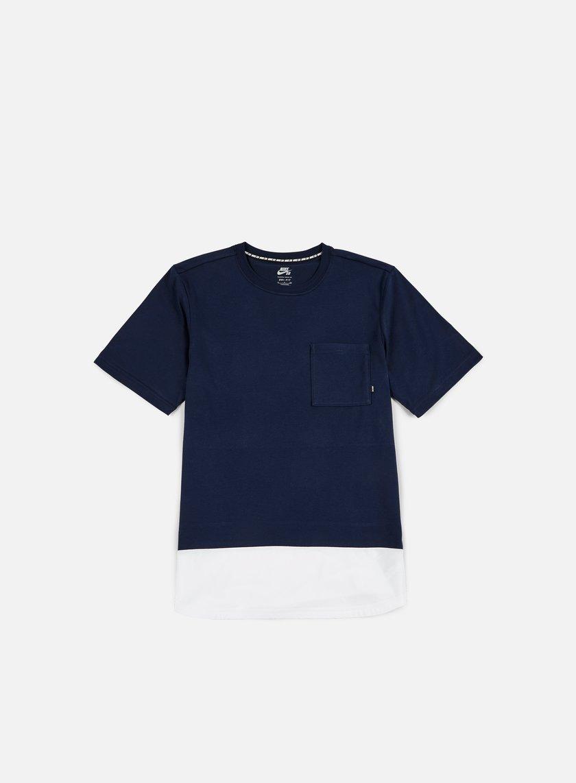 Nike SB - Dry Top T-shirt, Obsidian/White