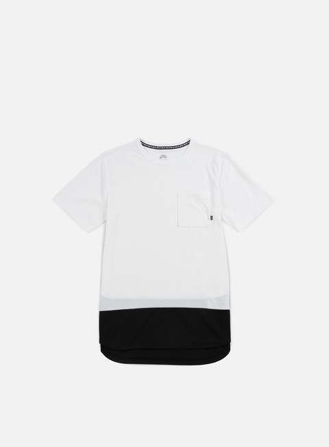 t shirt nike sb dry top t shirt white black