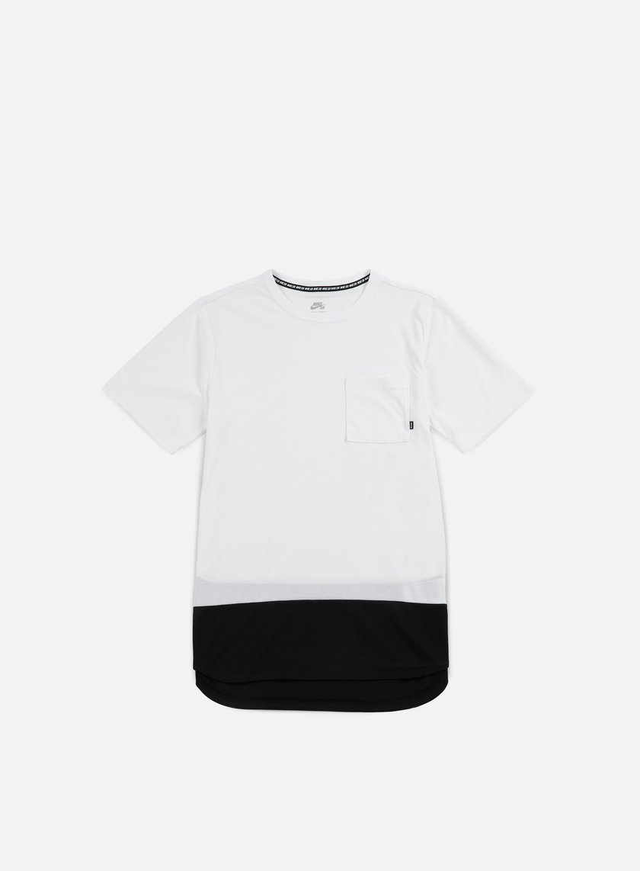 Nike SB - Dry Top T-shirt, White/Black