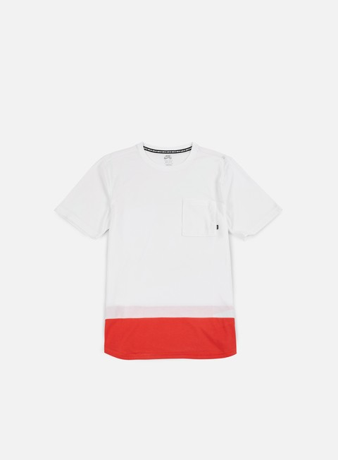 t shirt nike sb dry top t shirt white track red