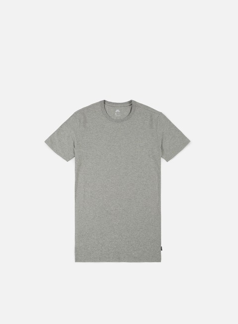t shirt nike sb essential t shirt dark grey heather
