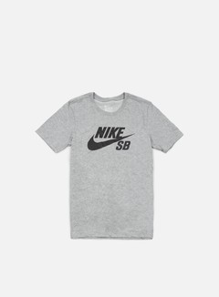 Nike SB - Icon Reflective T-shirt, Dark Grey Heather/Black 1