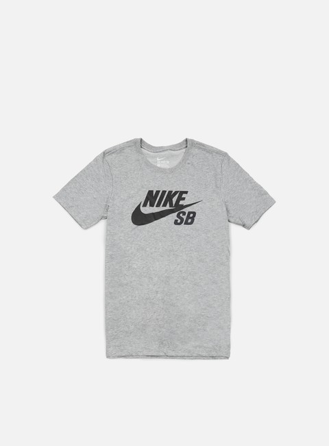 t shirt nike sb icon reflective t shirt dark grey heather black