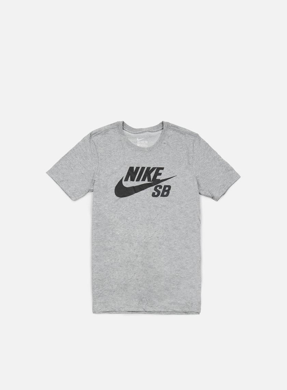 Nike SB - Icon Reflective T-shirt, Dark Grey Heather/Black