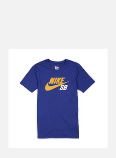 Nike SB - Icon Reflective T-shirt, Deep Royal Blue/Gold Leaf 1