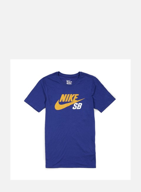 t shirt nike sb icon reflective t shirt deep royal blue gold leaf