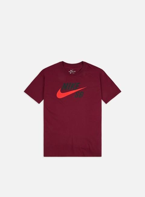Outlet e Saldi T-shirt a Manica Corta Nike SB Logo T-shirt