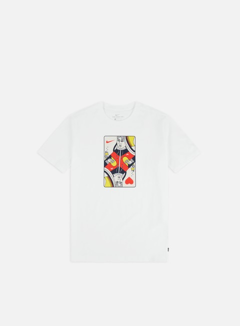 Short Sleeve T-shirts Nike SB Queen Card T-shirt