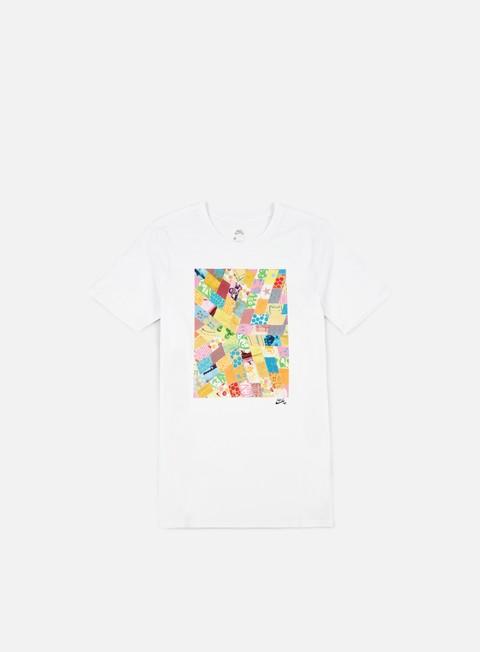 t shirt nike sb quilt t shirt white