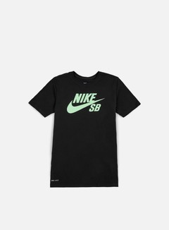 Nike SB - SB Logo T-shirt, Black/Fresh Mint