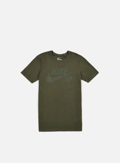 Nike SB - SB Logo T-shirt, Cargo Khaki/Cargo Khaki