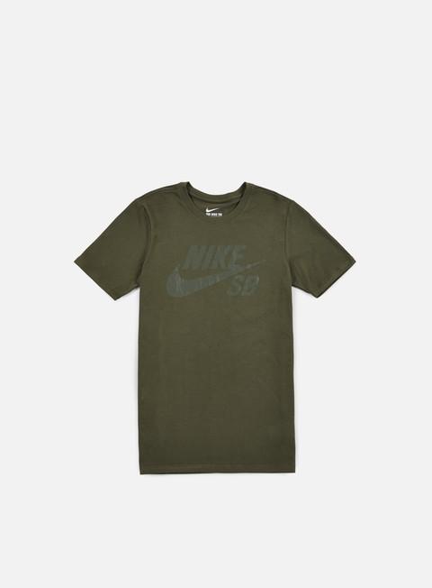 t shirt nike sb sb logo t shirt cargo khaki cargo khaki