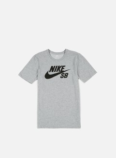 Nike SB - SB Logo T-shirt, Dark Grey Heather/Black