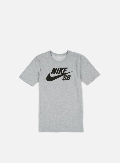 t shirt nike sb sb logo t shirt dark grey heather black