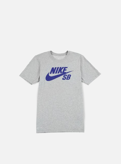 t shirt nike sb sb logo t shirt dark grey heather deep night