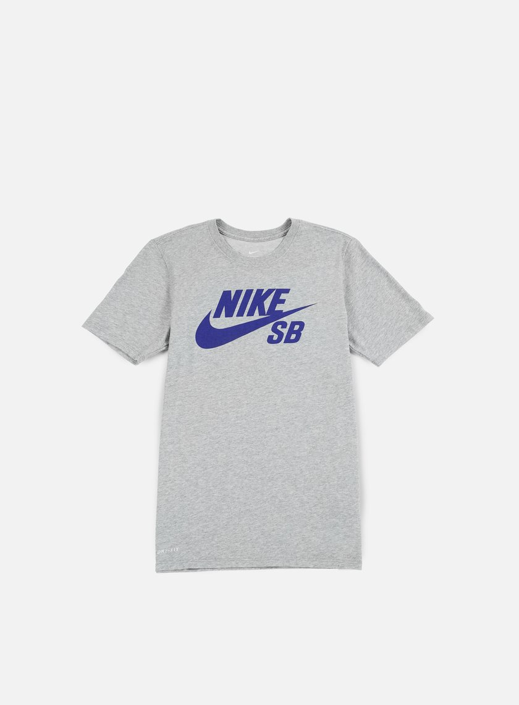 Nike SB - SB Logo T-shirt, Dark Grey Heather/Deep Night