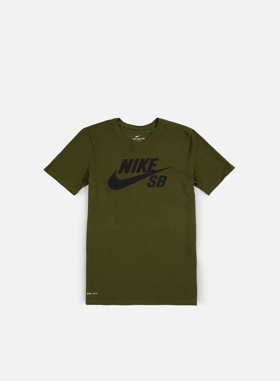 nike shirt olive green