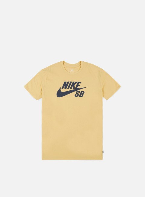 t shirt nike sb sb logo t shirt lemon wash thunder blue