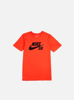 Nike SB - SB Logo T-shirt, Max Orange/Obsidian 1
