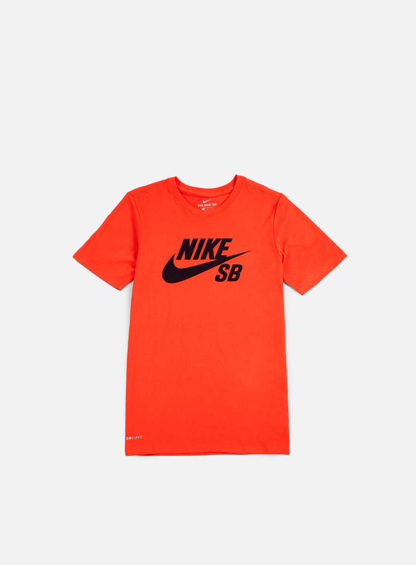 Nike SB - SB Logo T-shirt, Max Orange/Obsidian