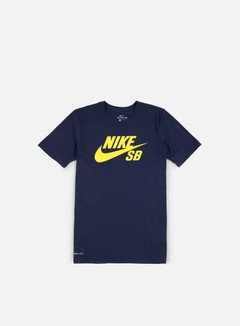 Nike SB - SB Logo T-shirt, Obsidian/Tour Yellow