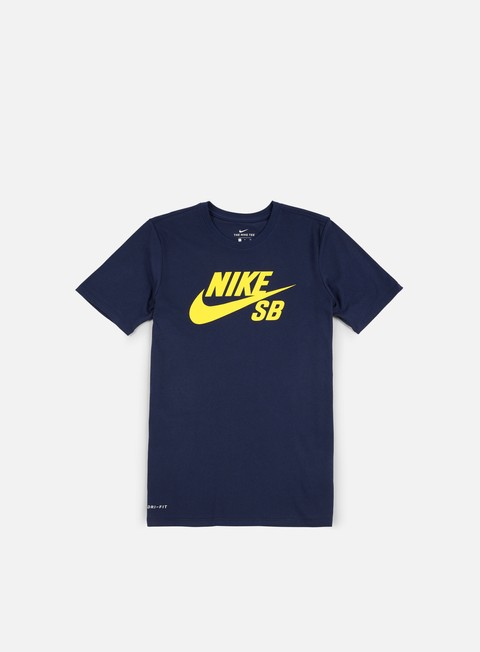 Outlet e Saldi T-shirt a Manica Corta Nike SB SB Logo T-shirt