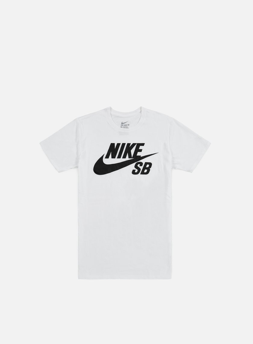 Nike SB - SB Logo T-shirt, White/Black