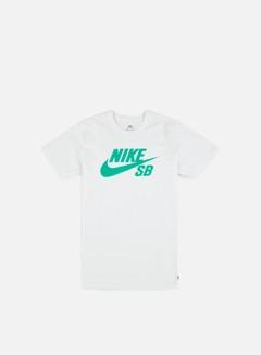 Nike SB - SB Logo T-shirt, White/Menta