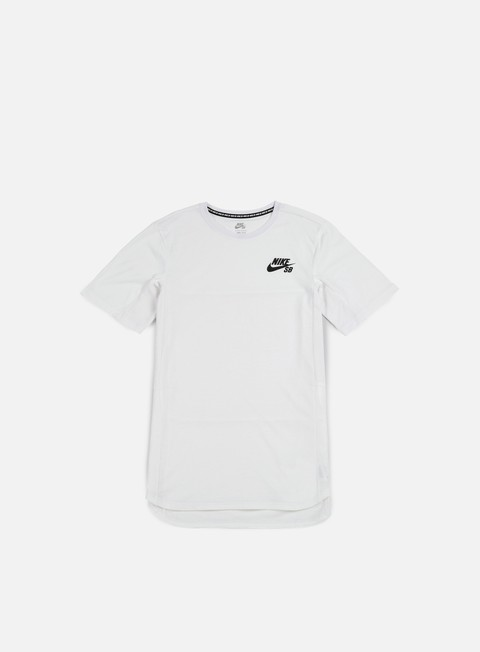 t shirt nike sb skyline cool t shirt white black