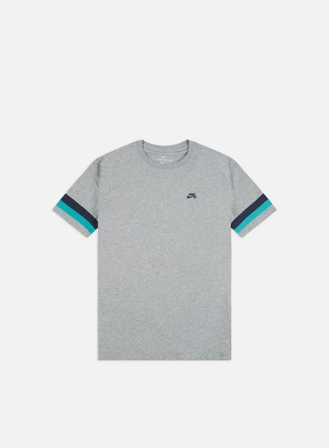 Outlet e Saldi T-shirt a Manica Corta Nike SB Sleeve Stripe T-shirt